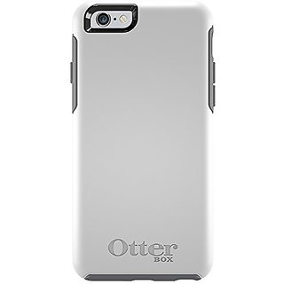 OtterBox SYMMETRY iPhone 6/6s Case - Retail Packaging - GLACIER (WHITE/GUNMETAL GREY)
