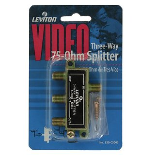 Leviton C5003 Three-Way Splitter
