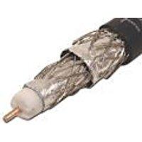 VEXTRA V621QWB / V621QB Quad Shield RG6 Solid Copper Coaxial Cable (White)