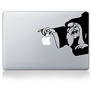 Witch Apple Macbook Vinyl Sticker Laptop Skin