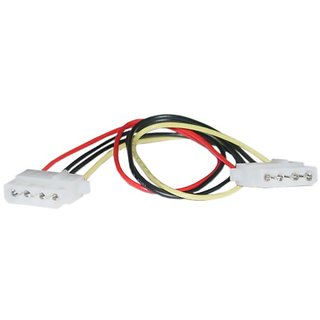 Offex OF-11W3-04412 5.25-Inch Female to 5.25-Inch Female 12-Inch 4-Pin Molex Cable