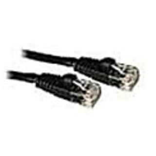 Cat 5E Copper Patch Cords Black (RJ-45) 10FT./3.05M