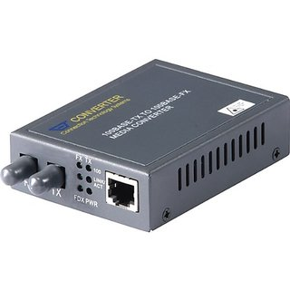 RF LINK RJ45 10/100 Base-TX to Fiber-ST 100 Base-FX Multi-Mode Converter (AGC-H21ST)