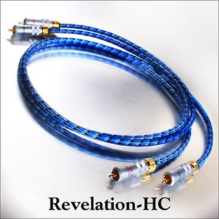 DH Labs Revelation 1.0M RCA Interconnect 1.0 Meter Pair RCA