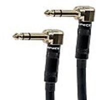 Monoprice 109440 3-Feet Premier Series 1/4-Inch Male Right Angle To Male Right Angle 16AWG Cable