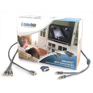 C2G / Cables to Go 40924 SonicWave HDTV Connection Kit