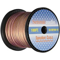 Seismic Audio - SA-SW100-16 - 100 Foot Spool Of Speaker Wire - 16 Gauge - New - Home Audio