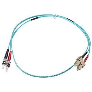 NTW NL-ST/SC-0340R Nonconductive Riser Fiber Optic Jumper Cable