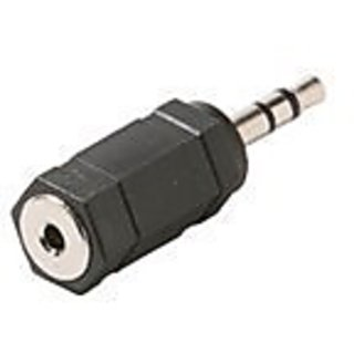 Steren 2.5mm female to 3.5 male plug 10-pack