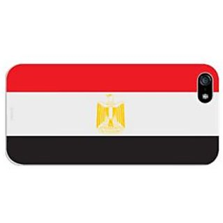 Cellet Proguard Case with Egyptian Flag Design Case for Apple iPhone 5 - White