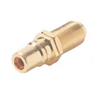 Sterene 251-508-10 Single F to RCA Coupler