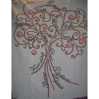 Tapestry Throw Tree of Live