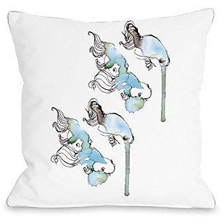 Bentin Home Decor Goldfish Throw Pillow w/Zipper by Judit Garcia Talvera, 16