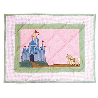 Patch Magic 16-Inch by 12-Inch Fairy Tale Princess Crib Toss Pillows
