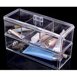 JOVANA Acrylic Cosmetic Organizer Makeup Brushes Lipstick Holder
