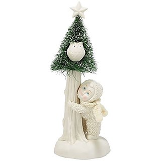 Snowbabies Department 56 Snowbabies Classics Whooo is on The Lookout Figurine, 8.25-Inch