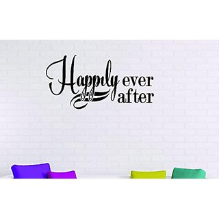 Design with Vinyl Moti 1616 3 Happily Ever After Fairy Tale Castle Prince Princess Love Peel & Stick Wall Sticker Decal,