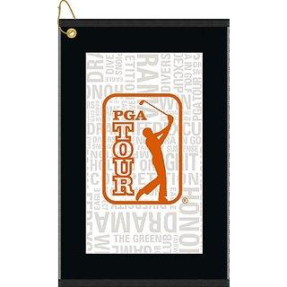 Devant Sport Towels PGA Tour Orange Collage Golf Towel