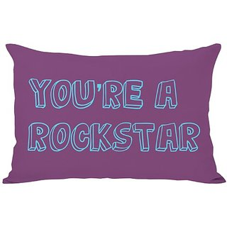 Bentin Home Decor Youre a Rockstar Throw Pillow by OBC, 14