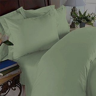 Elegant Comfort 1500 Thread Count Wrinkle Resistant Egyptian Quality Ultra Soft Luxurious 4-Piece Bed Sheet Set, Full, G