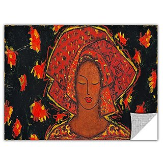 ArtWall ArtApeelz Gloria Rothrock Independent Spirit Removable Graphic Wall Art, 12 by 24-Inch