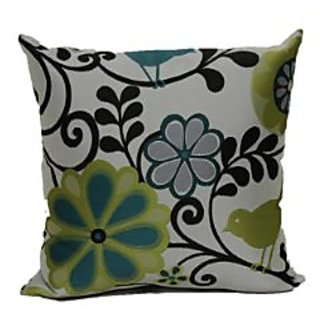 Brentwood 6211 Happy as a Lark Pillow, 18-Inch, Caribbean
