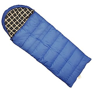 World Famous Sports Oversized 0 Degree Hooded Sleeping Bag,