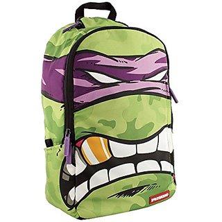 Sprayground Teenage Mutant Ninja Turtles Backpack Bag Green