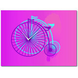 Cartoonpur 3D-Mono Cycle Wall Clock