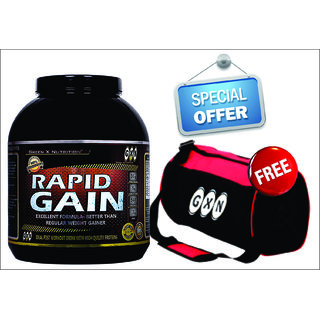 Weight Gainer Nutrition & Muscle Gainer Supplement GXN Rapid Gain Chocolate3.2kg