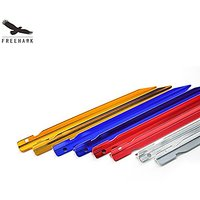 Freehawk(TM) Y Shape Colourful Tent Stakes Outdoor Camping Trip Hiking Aluminum Alloy Tri-cone Shaped 18cm Tent Stakes P