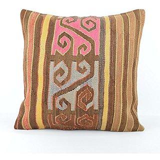 Kilim Pillow, nk642, Kilim Pillow Cover, Turkish Pillow, Kilim Cushions, Bohemian Decor, Moroccan Pillow, Bohemian Pillo