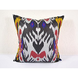 Ikat Pillow, Hand Woven Ikat Pillow Cover, Ikat throw pillows, Designer pillows, Ikat Pillow, Decorative pillows, Accent