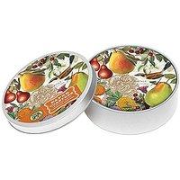 Michel Design Works 12 Count Golden Pear Coasters In Tin, Orange