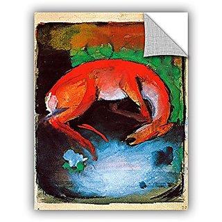 ArtWall Franz Marcs Dead Deer Art Appeelz Removable Graphic Wall Art, 18