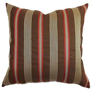The Pillow Collection Querell Stripes Pillow, 20