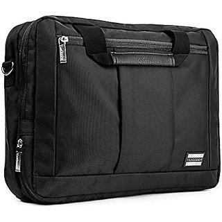 VanGoddy El Prado 3-in-1 Laptop bag for Lenovo Laptops 14  to 15.6inch Black Trim