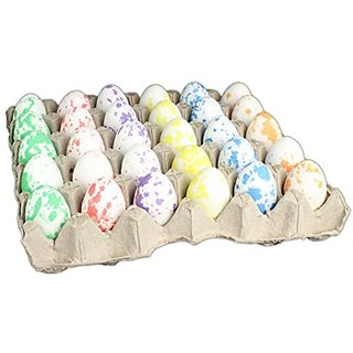 Hills Parks Easter Eggs - Pack of 30 in Egg Carton (Speckled Glitter)