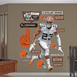 NFL Cleveland Browns Joe Haden Big Wall Decal