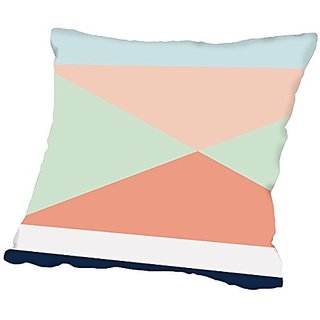 American Flat Geo 02, Urban Road Pillow by Urban Road, 16