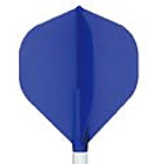 Cosmo Darts Fit Flight - Standard Dart Flight (Blue)