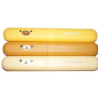 Rilakkuma Bear Dust Proof Toothbrush Holder Storage Box Anti Bacterial Toothbrush