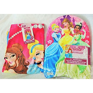 Disney Princess Beach Towel and Kickboard