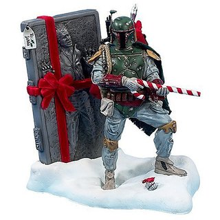 Kurt S. Adler 8-Inch Fabric Mache Star Wars Boba Fett Tablepiece Christmas Dcor