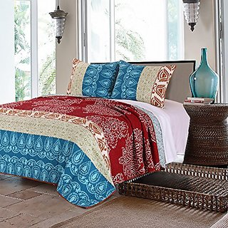 Greenland Home 3 Piece Kianna Quilt Set, King