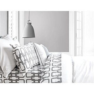 Oilo Twin Link Duvet, Stone