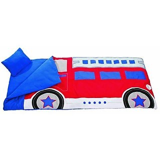 Climb-In Fire Truck Sleeping Bag, One Size