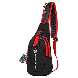 WOMHOPE Portable Multi-functional Waterproof Super Light Unisex Outdoor Sports Chest Bag Bum Bag Sling Bag Casual Bag Sh