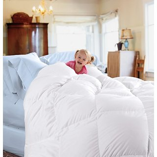 Cuddledown 233TC Down Comforter, King, Level 2, White
