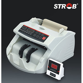 STROB HL 2100 ADVANCED / NOTE / MONEY COUNTER / COUNTING MACHINE & FAKE DETECTER available at ShopClues for Rs.5499